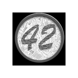 Логотип 42 коин