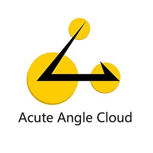 Логотип Acute Angle Cloud