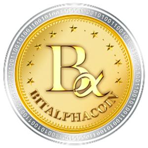 Логотип BitalphaCoin