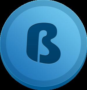 Логотип BlueCoin