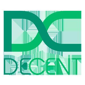 Логотип Decent