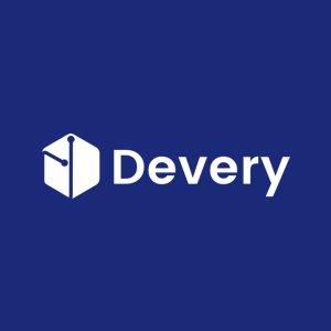 Логотип Devery