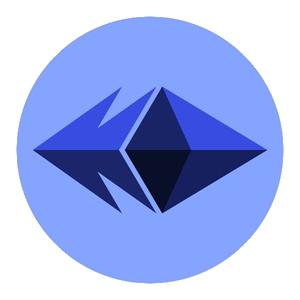 Логотип Ethereum Blue