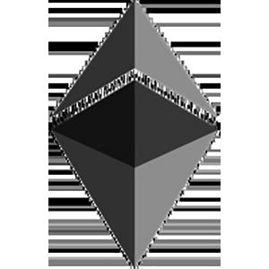 Логотип Ethereum Dark