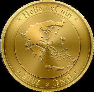 Логотип Hellenic Coin