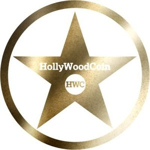 Логотип HollyWoodCoin