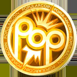 Логотип PopularCoin