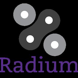 Логотип Radium