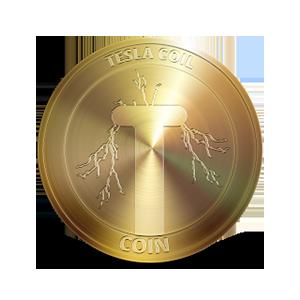 Логотип TeslaCoilCoin