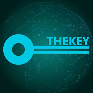 Логотип THEKEY Token