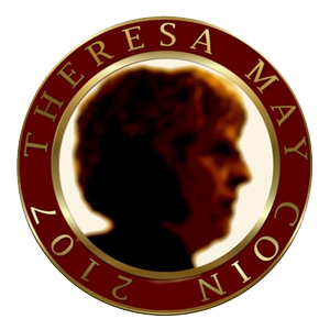 logo Theresa May Coin