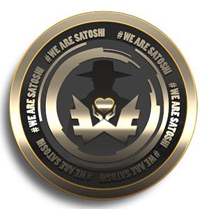Логотип WeAreSatoshi