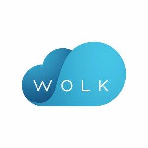 Логотип Wolk